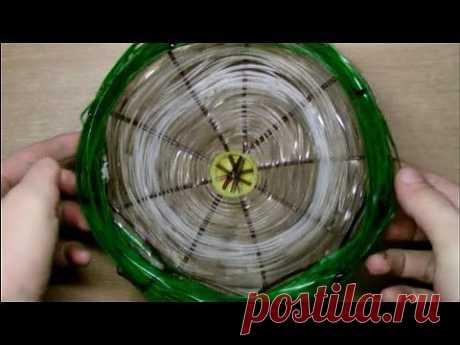 ▶ Пластиковая веревка - лучший материал для корзин - YouTube