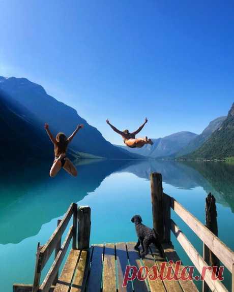 Ловатнет, Норвегия