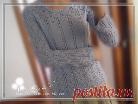 8 очень красивых пуловеров   Волшебные спицы   Яндекс Дзен