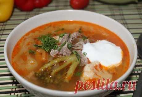 Мясной суп - 396 рецептов