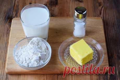 Молочный соус для котлет — рецепт с фото пошагово