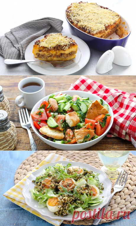 5 блюд из черствого хлеба