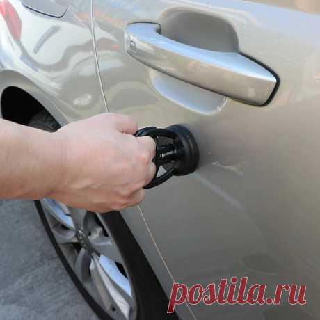 Присоска для удаления вмятин с кузова автомобиля