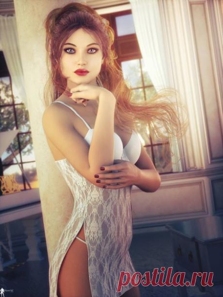 Женский образ в цифровых рисунках | Калейдоскоп новостей | Яндекс Дзен