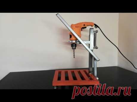 Стойка для дрели. Homemade Drill press