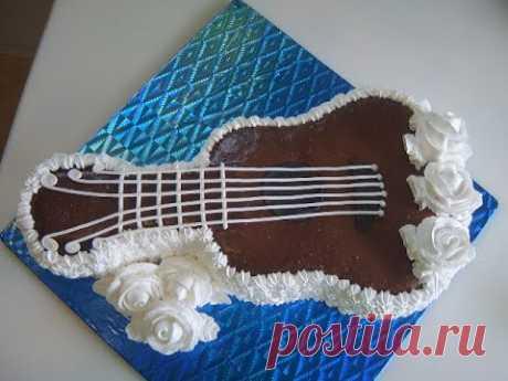 Торт Гитара. Маринкины творинки