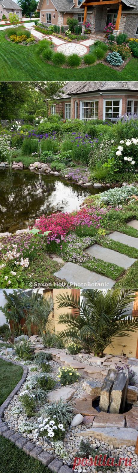 Ландшафтный дизайн садовых участков и патио