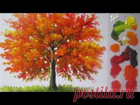 #живопись_онлайн #мастер_класс #живопись #картины  Видеоподборка о том, как писать разные виды деревьев. Для всех любителей пейзажной живописи.