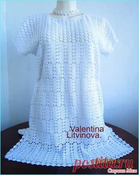 La túnica veraniego - la Labor de punto - el País de las Mamás