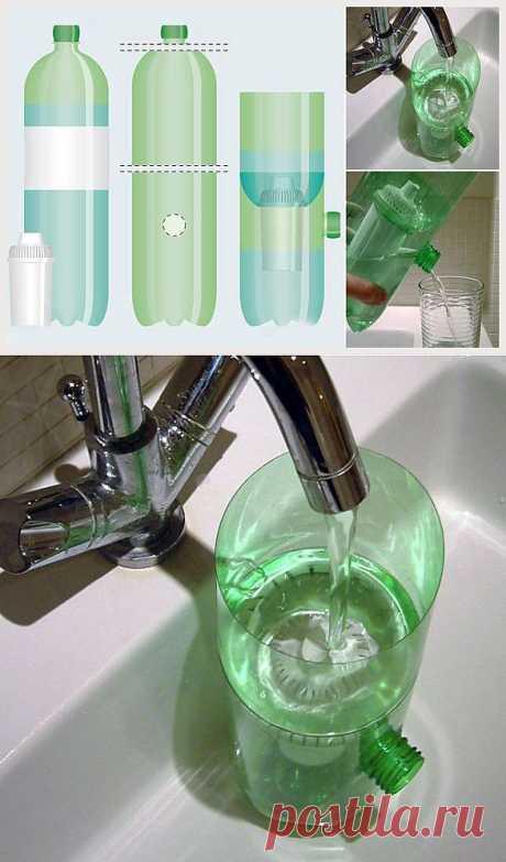 Как заменить фильтр для воды: / Лайфхаки / Модный сайт о стильной переделке одежды и интерьера