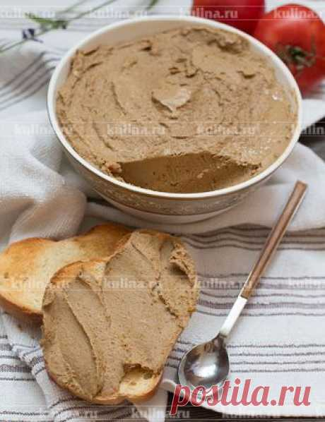 Печеночный паштет из куриной печени – рецепт приготовления с фото от Kulina.Ru