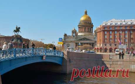 Самые необычные мосты Петербурга