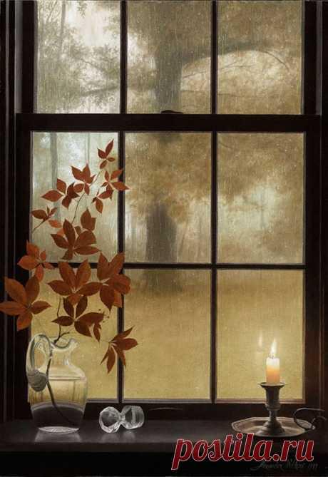 Осень Утро Дождь стучит по крыше (Оксана Аистова) / Стихи.ру