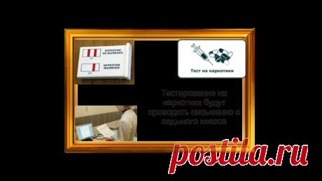 Тестирование школьников на наркотики будут проводить письменно с седьмого класса | Жизнь и кошелек | Яндекс Дзен