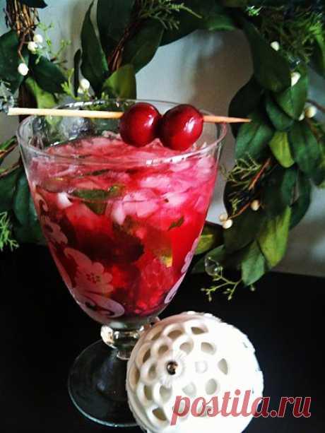 Любимый напиток - ВИШНЕВЫЙ МОХИТО - Простые рецепты Овкусе.ру