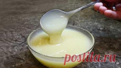 Всего 15 минут, 3 ингредиента и получается натуральная домашняя сгущенка | Мастер Сергеич | Яндекс Дзен