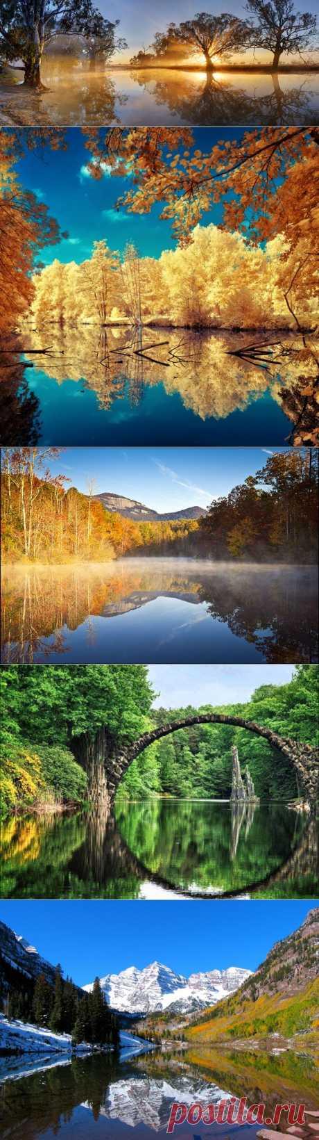 Зеркальные пейзажи | Fresher - Лучшее из Рунета за день