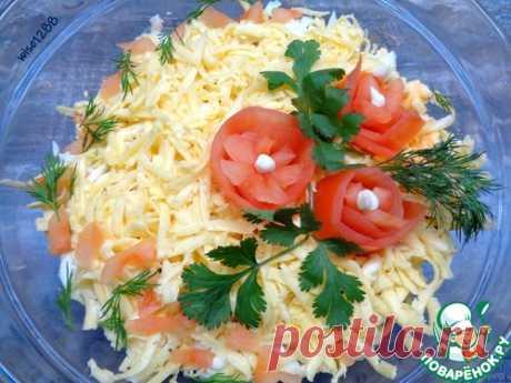 Салат «Впечатляющий» – кулинарный рецепт