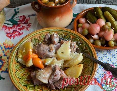 Голень индейки с картофелем – кулинарный рецепт