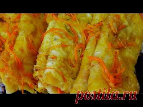 Постное Блюдо. Вкуснятина за копейки.Узбекская кухня. Юфка