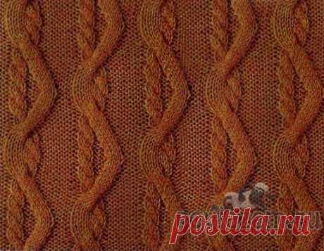"Pattern spokes \""Cheerful braids\"""