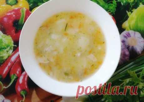 Куриный суп с кукурузной крупой Автор рецепта Бобрёнок Поварёнок - Cookpad