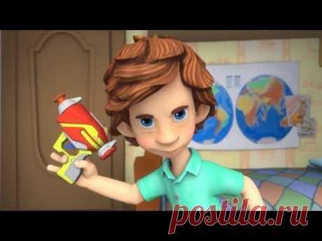 Фиксики - Новые серии - Кормушка (Деньги, Паучок, Подводная лодка, Шоколад)
