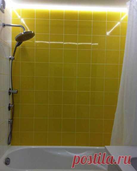 Простая и стильная ванная комната — Наши дома