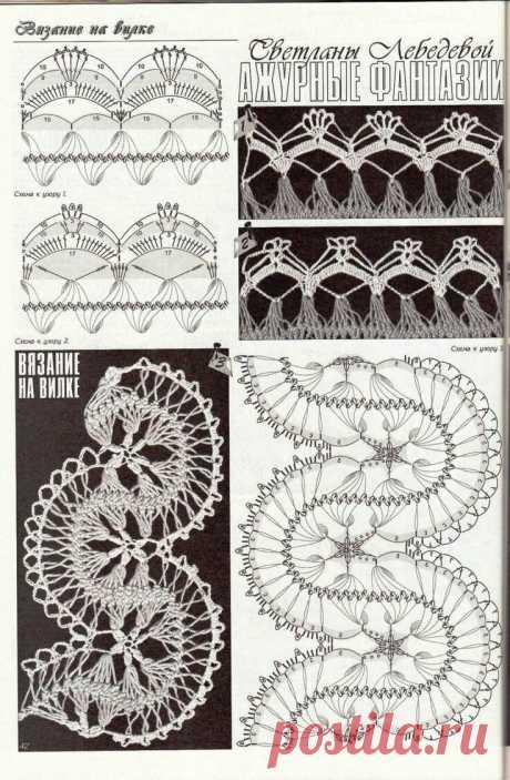 «вязание на вилке для начинающих схемы: 19 тыс изображений на» — карточка пользователя Ирина К. в Яндекс.Коллекциях