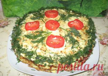Торт из кабачков рецепт с фото пошагово