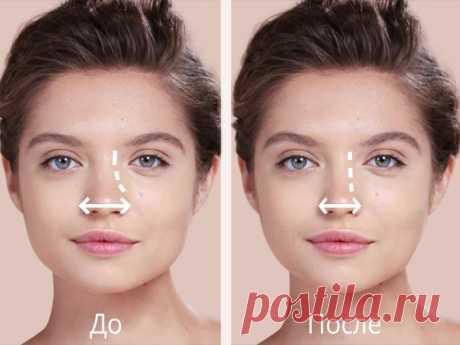 Техника, которая поможет уменьшить нос