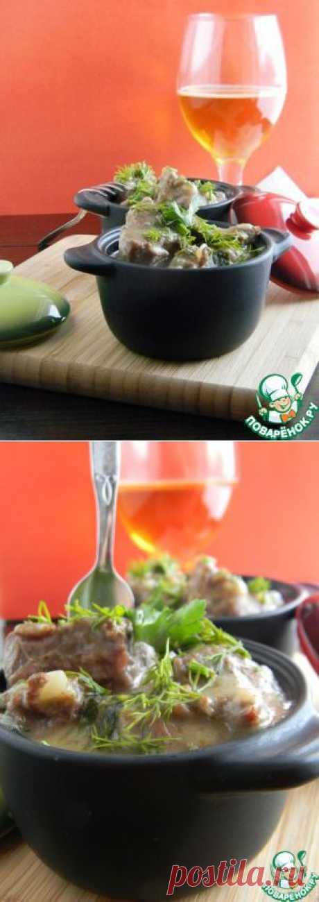 Говядина в пиве - кулинарный рецепт