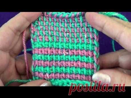 Тунисское вязание, узор Твид. .: 7 видео найдено в Яндекс.Видео