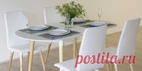 Купить Стол обеденный Дотс (белый/светлое дерево) в Москве за 3 500 руб.