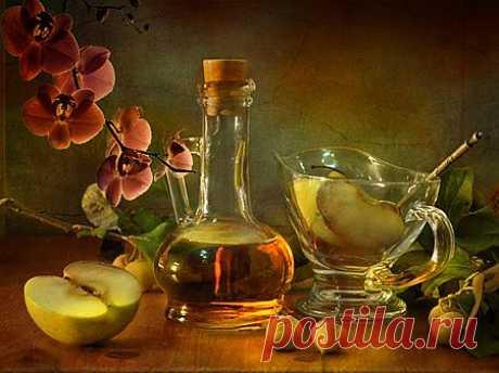 Яблочный уксус – волшебный доктор из вашего сада