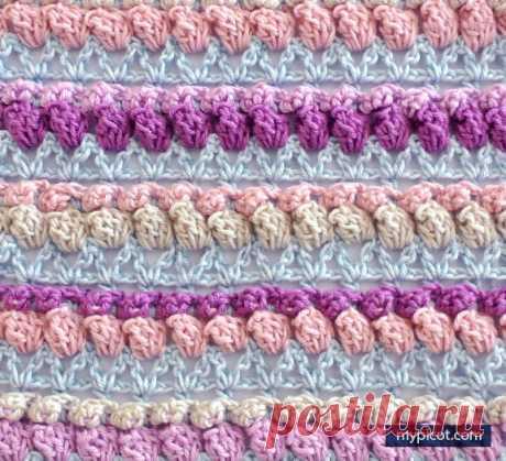 Объемные ажурные цветочки крючком — DIYIdeas