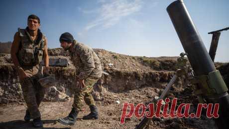 27.10.20-В Минобороны Армении заявили об обстреле ВС Азербайджана южной границы - Газета.Ru