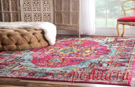 Старые ковры в современном интерьере