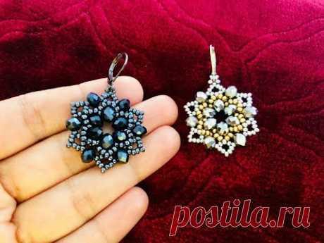 DIY Beaded Earrings or Pendant    How to make Beaded earrings