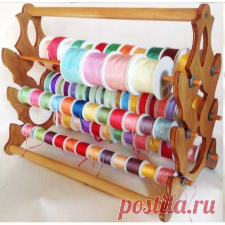 Удобные способы хранения лент и декоративных ниток
