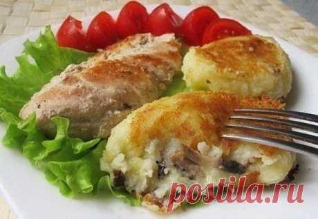 Картофельные зразы с грибами! - Простые рецепты Овкусе.ру