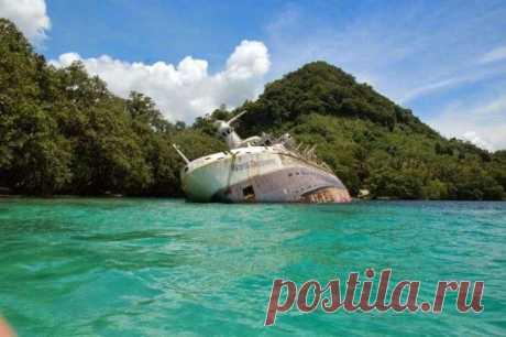 12 затонувших кораблей, на которые можно посмотреть без акваланга | Наука и техника