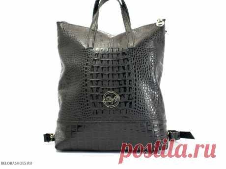 Сумка-рюкзак женская Жизель Сумка-трансформер. Несколько вариантов использования наплечного ремня