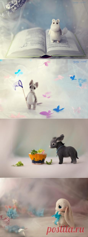 ...Изумительные игрушки Надежды Мичеевой-детского врача из Санкт-Петербурга.