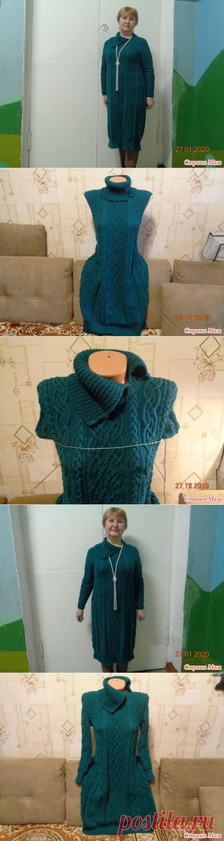Платье для подружки(дополнила фото хозяйки) - Вязание спицами - Страна Мам