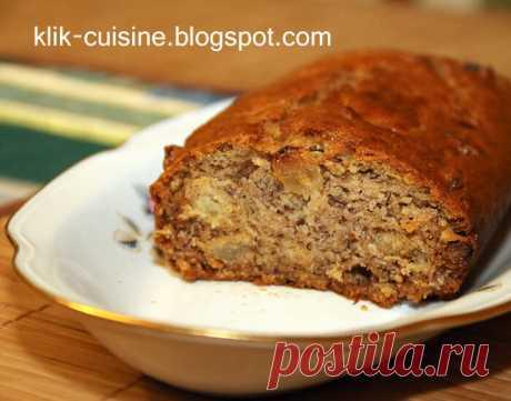 Кухня Клик: Постный кекс