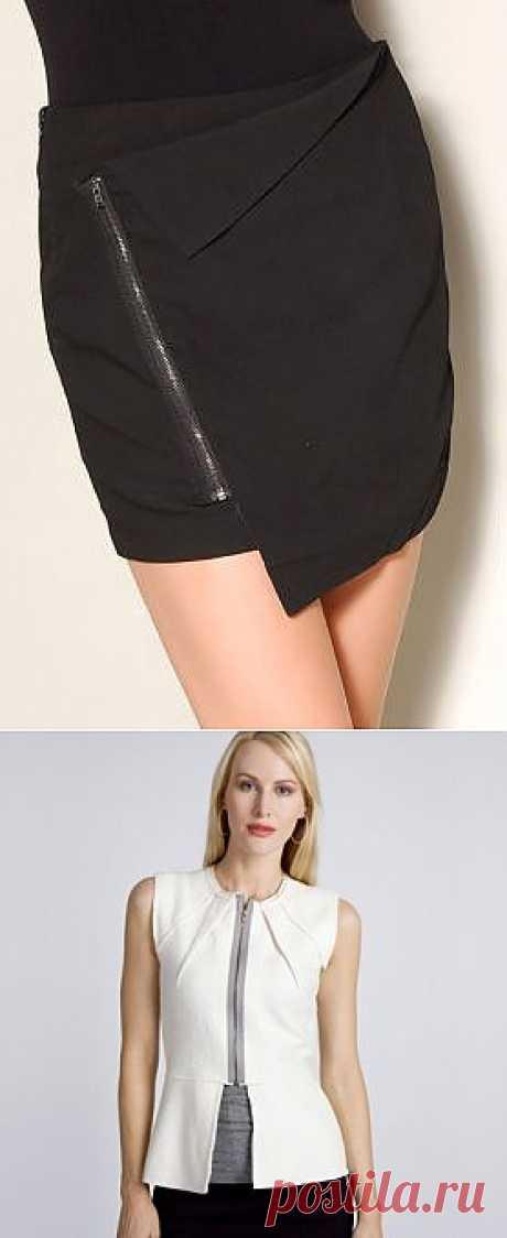 Очень простые блузка и юбка / Простые выкройки / Модный сайт о стильной переделке одежды и интерьера