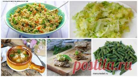 Правильное питание в пост и пример меню на неделю