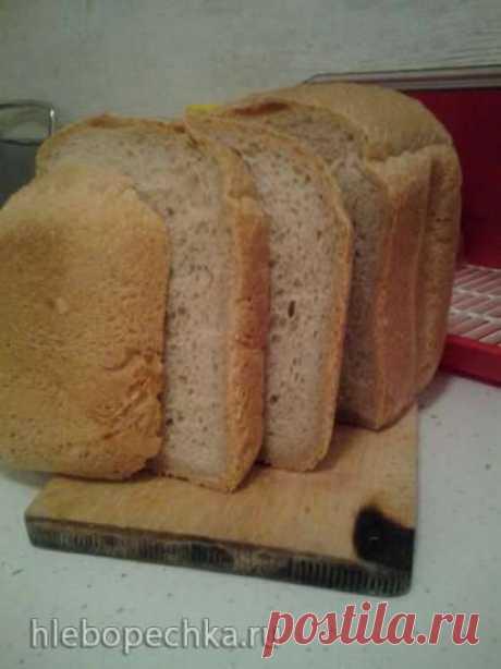 """Хлеб пшенично-ржаной на хмелевой закваске в хлебопечке """"Серенький"""" - Хлебопечка.ру"""