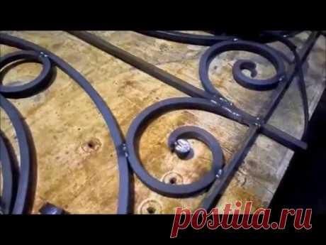 Кованные ограждения  ХОЛОДНАЯ КОВКА...Forged fences cold forging